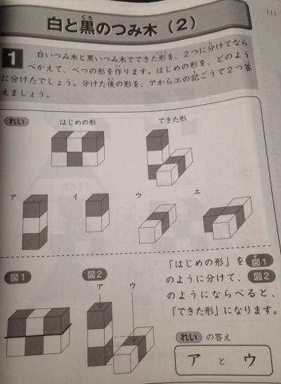 サピックス立体図形