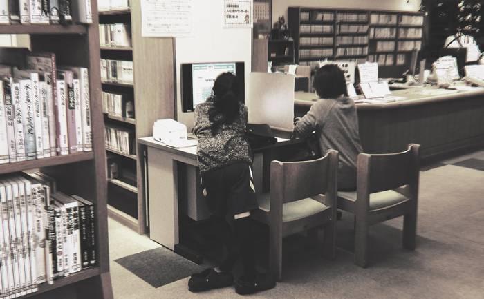 図書館の検索システム