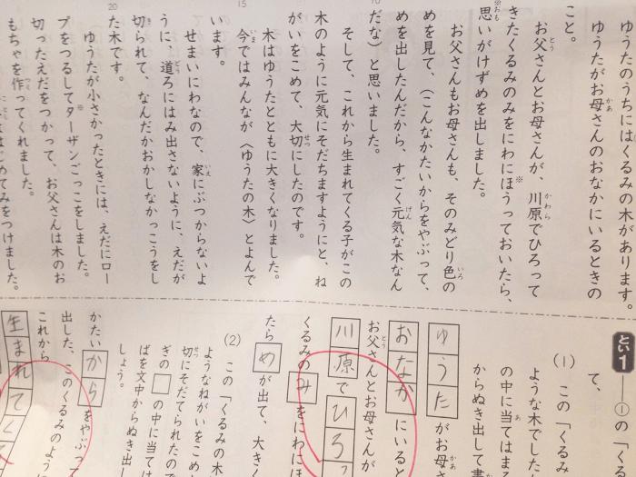 サピックス国語問題文