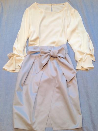 ハトヤ戦利品ブラウススカート01