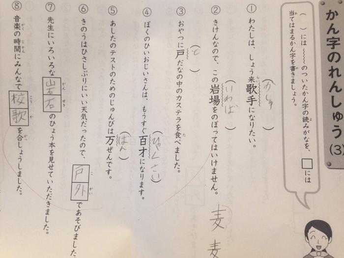 サピックス漢字テスト