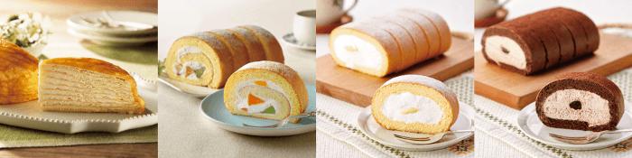 ドンレミーロールケーキ