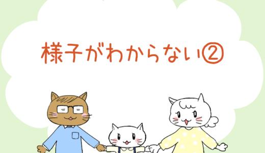 【4コマ漫画】第31話 様子がわからない②(#一人っ子男子を育てています)