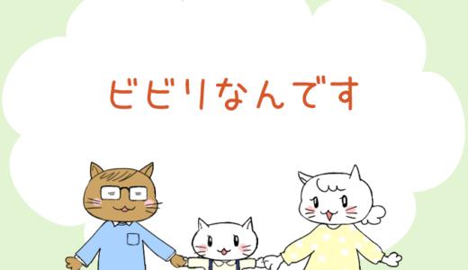 【4コマ漫画】第11話 ビビリなんです(#一人っ子男子を育てています)