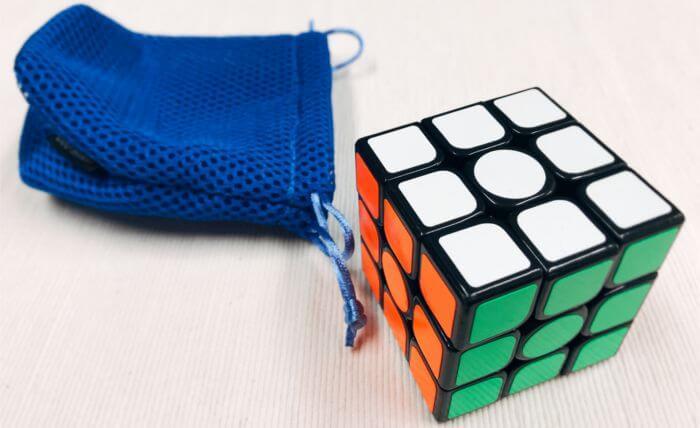 3×3×3のルービックキューブ