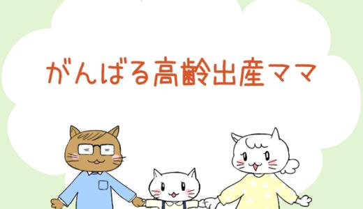 【4コマ漫画】第18話 がんばる高齢出産ママ(#一人っ子男子を育てています)