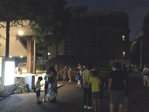 夜間天体観望公開集合場所