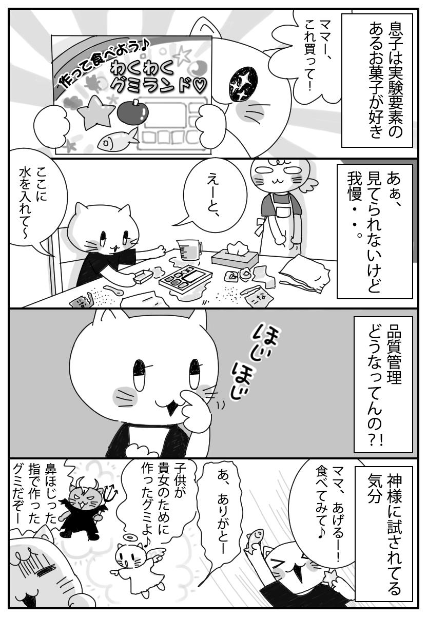 実験系のお菓子