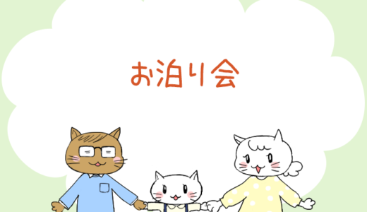 【4コマ漫画】第53話 お泊り会(#一人っ子男子を育てています)