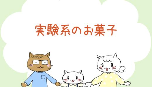 【4コマ漫画】第54話 実験系のお菓子(#一人っ子男子を育てています)