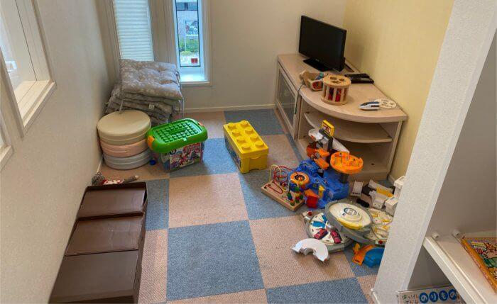 子供が遊べる部屋