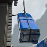 引越しで冷蔵庫と洗濯機をクレーン車で2階に吊り上げる時の注意点!トラブルになりかけました
