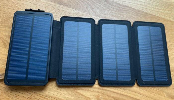 ソーラーモバイルバッテリー(ソーラーチャージャー)